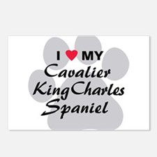Cavalier King Charles Postcards (Package of 8)