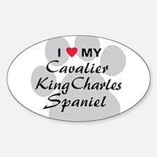 Cavalier King Charles Sticker (Oval)
