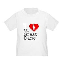 I Love My Great Dane T