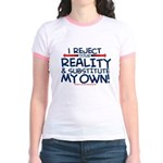 Reality Jr. Ringer T-Shirt