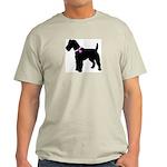 Fox Terrier Breast Cancer Sup Light T-Shirt