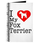I Love My Fox Terrier Journal