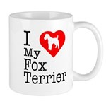 I Love My Fox Terrier Mug