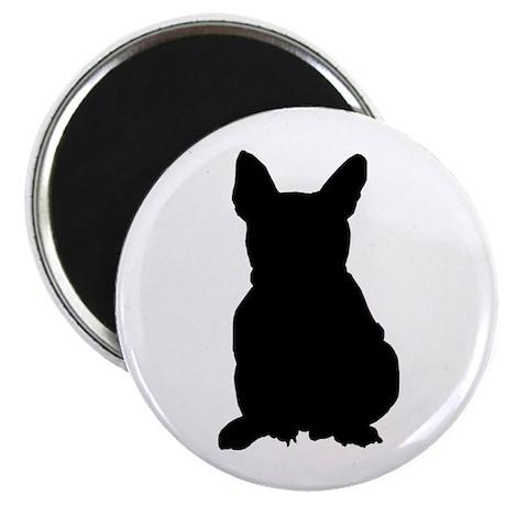 French Bulldog Silhouette Magnet
