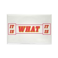 It Is What It Is Rectangle Magnet