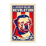 American Bulldog Revolution! Mini Poster Print