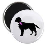 Labrador Retriever Breast Can Magnet
