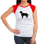 Labrador Retriever Breast Can Women's Cap Sleeve T