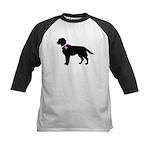 Labrador Retriever Breast Can Kids Baseball Jersey