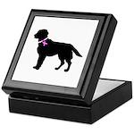 Labrador Retriever Breast Can Keepsake Box