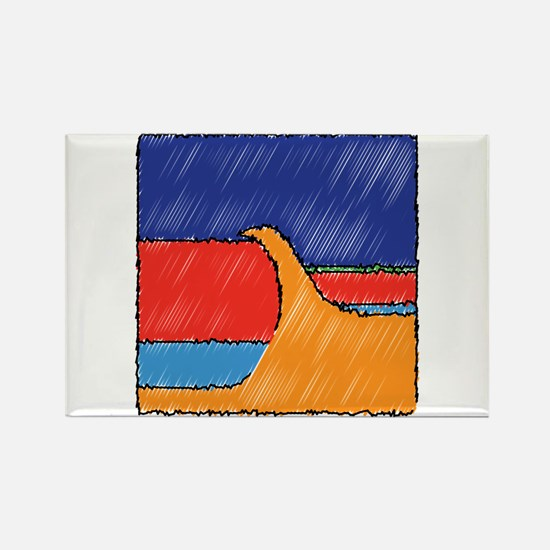 Funny Ndp Rectangle Magnet