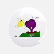 "Googles! In Purrpl & Banana 3.5"" Button"