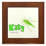 Katy Did? Framed Tile