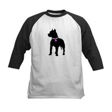 Pitbull Terrier Breast Cancer Tee