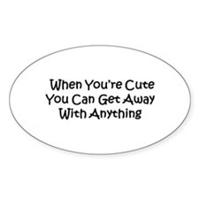 Funny Cutie Decal
