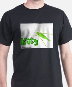 Katy Did? Black T-Shirt