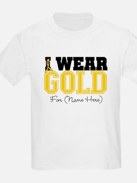 Custom Childhood Cancer T-Shirt