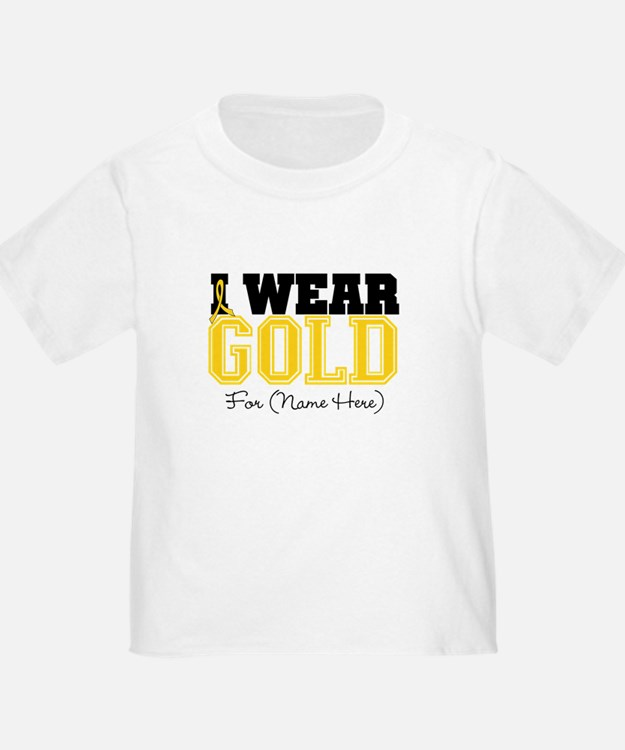 Custom Childhood Cancer T