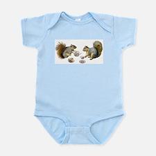 Squirrels Tea Party Infant Bodysuit
