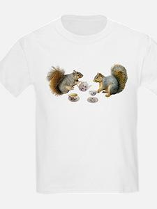 Squirrels Tea Party T-Shirt