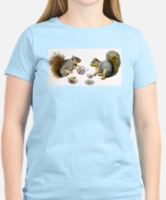 Squirrels Tea Party T-Shirt