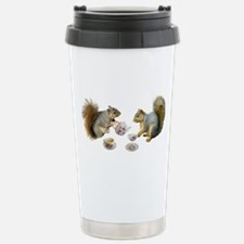 Squirrels Tea Party Stainless Steel Travel Mug