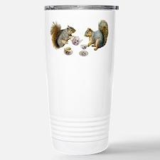 Squirrels Tea Party Travel Mug