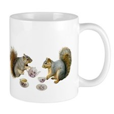 Squirrels Tea Party Mug