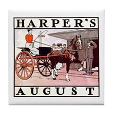 Harpers August Tile Coaster
