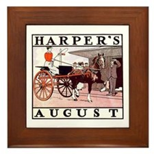 Harpers August Framed Tile