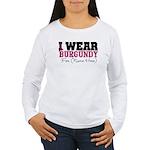 Custom Multiple Myeloma Women's Long Sleeve T-Shir