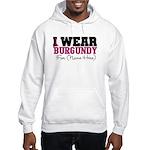 Custom Multiple Myeloma Hooded Sweatshirt