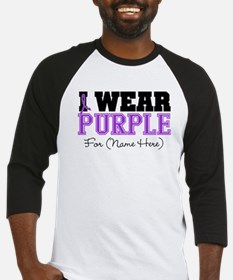Custom Pancreatic Cancer Baseball Jersey