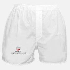 Cute Scuba dive Boxer Shorts
