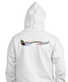 Butterfly Music Hoodie