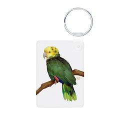 Double Yellowhead Amazon Keychains