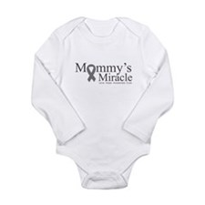 Mommy's Miracle Survivor Long Sleeve Infant Bodysu