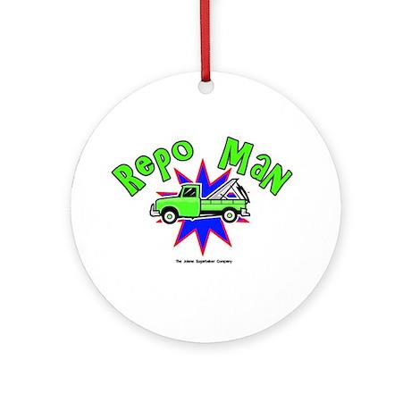 Repo Man Ornament (Round)