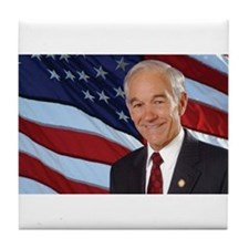 Ron Paul Tile Coaster