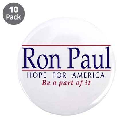 "Ron Paul 3.5"" Button (10 pk)"