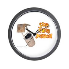 Stay Away Jessica Wall Clock