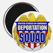 """U.S. Deportation Squad 2.25"""" Magnet (10 pack)"""