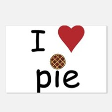 I Love Pie Postcards (Package of 8)