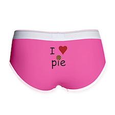 I Love Pie Women's Boy Brief
