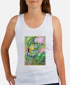 Goldfinch, colorful, Women's Tank Top