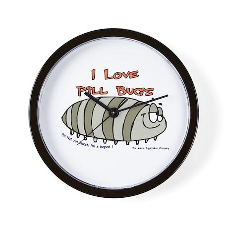 Pill Bug Isapod Wall Clock