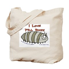 Pill Bug Isapod Tote Bag