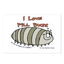 Pill Bug Isapod Postcards (Package of 8)