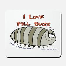 Pill Bug Isapod Mousepad