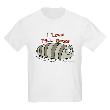 Pill Bug Isapod Kids T-Shirt
